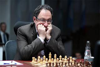 Echecs à Moscou : le challenger Boris Gelfand - Photo © Chessbase