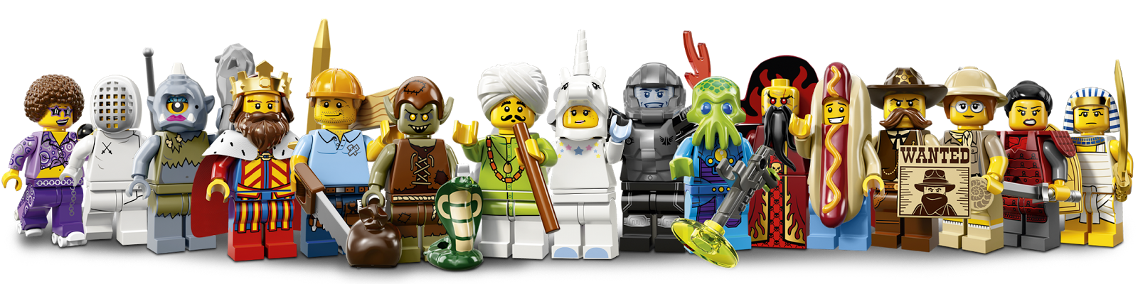 Lego Minifigures 13 Seri Touch Guide I M Secho S