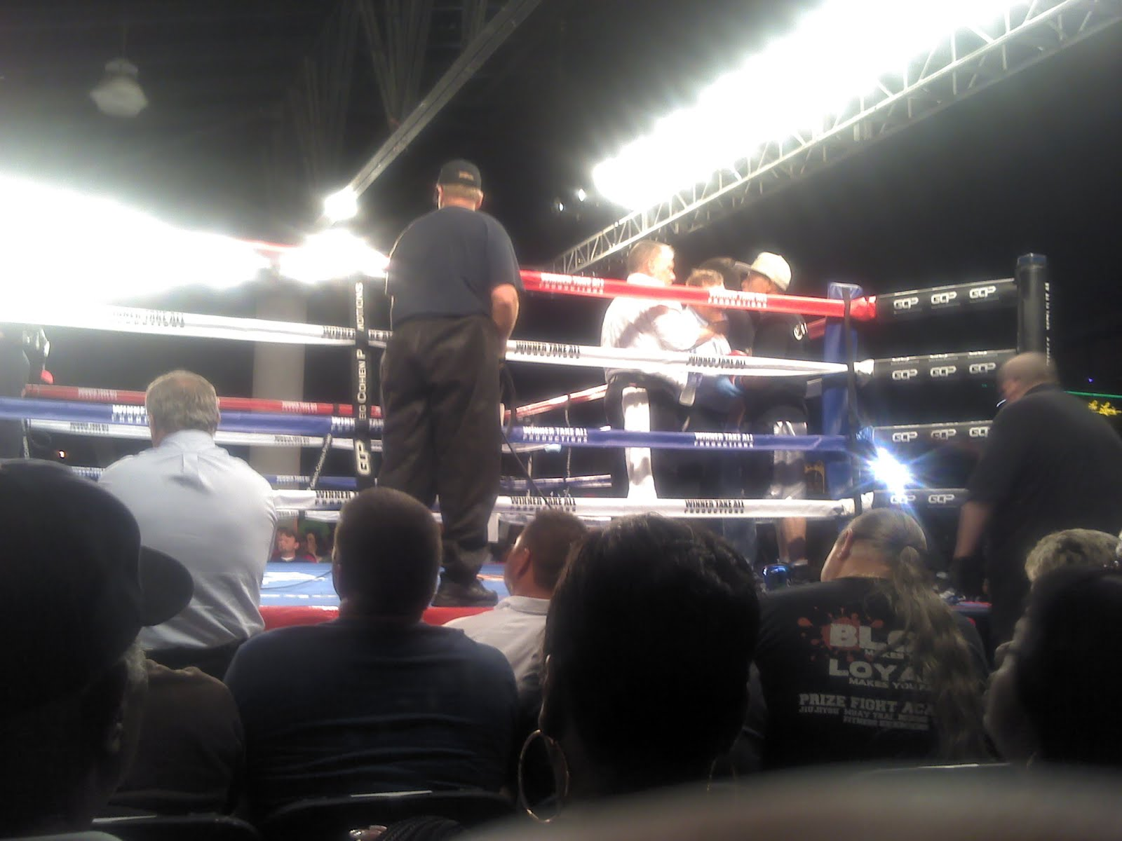 Live Boxing On Beale Street!