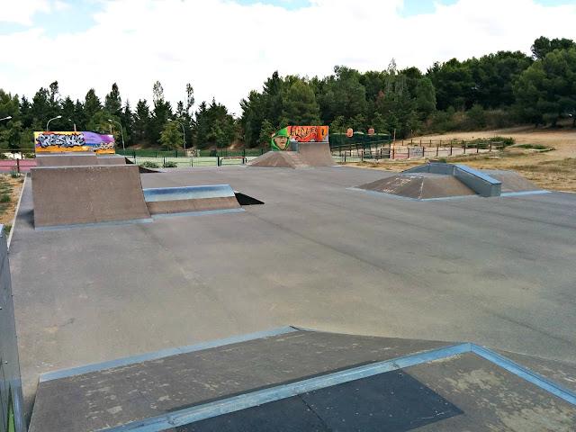 skatepark du cres montpellier