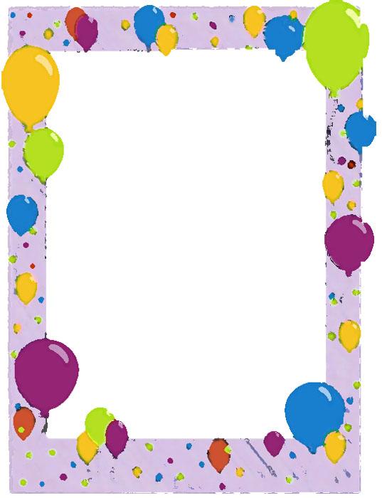 Contornos de tarjetas de cumpleaños para niños - Imagui