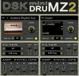DSK Mini-Drumz 2 - Plugin VST de Drum