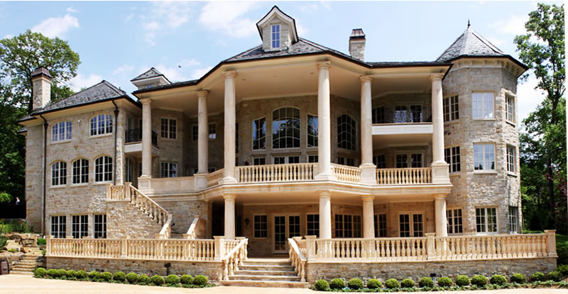 Tricked out mansions showcasing luxury houses july 2011 for Million dollar luxury homes