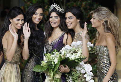 miss lebanon 2011 winner yara khoury mikael