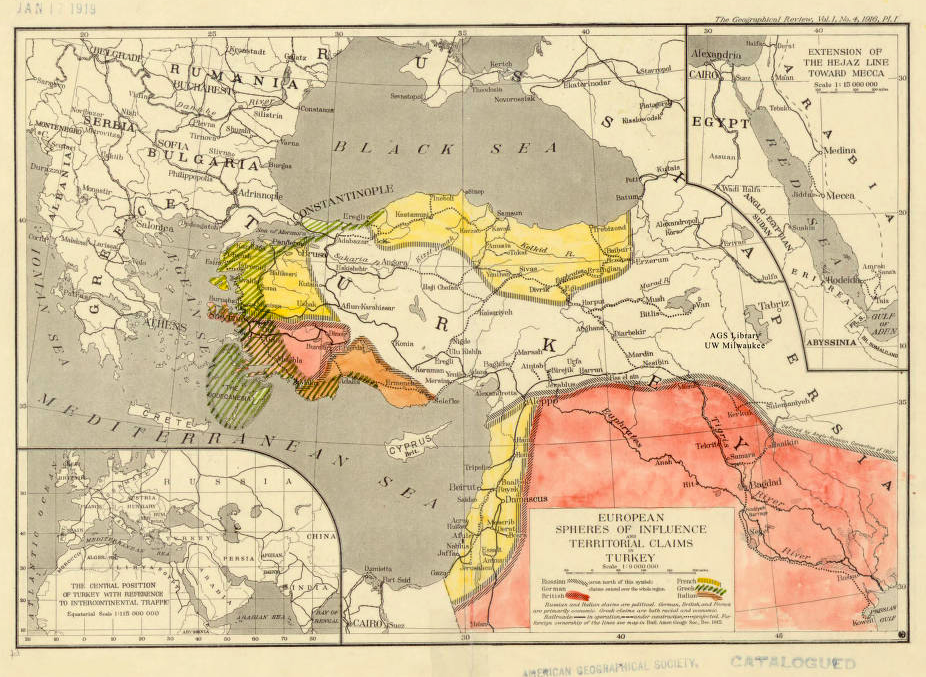 Afternoon Map Century Old Us Map Envisions United Kurdistan