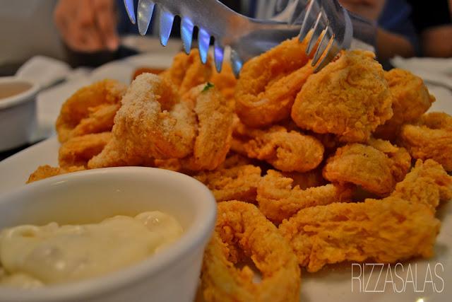 Gumbo Calamari Friti x Rizza Salas