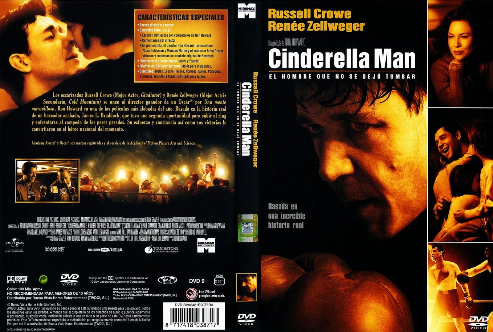 Cinderella Man DVD