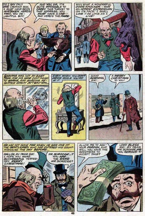 a christmas carol comic book pdf