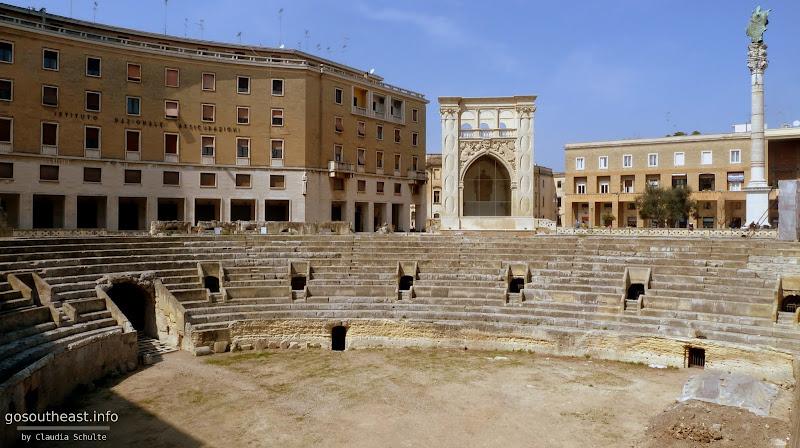 Amphitheater in Lecce