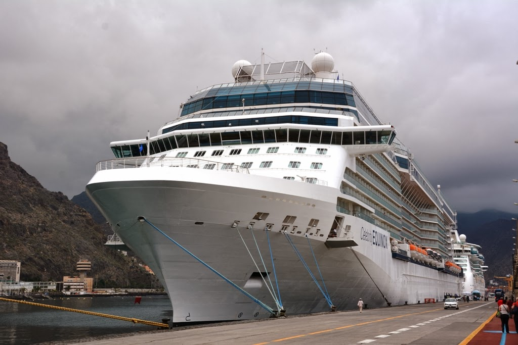 Santa Cruz Port Tenerife Celebrity Cruises