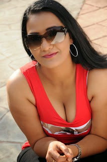 Apoorva Latest  Picture Gallery in Red Top ~ Celebs Next