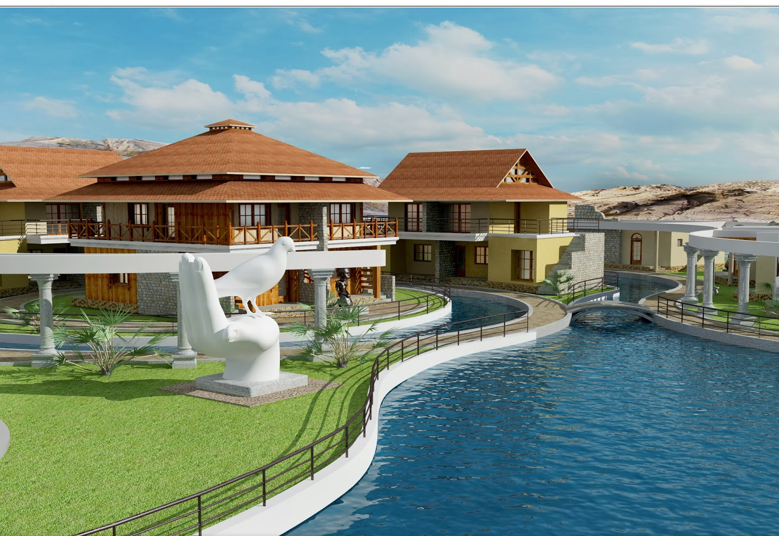 Mps latest project of mps green ffort resort at jhargram west bengal
