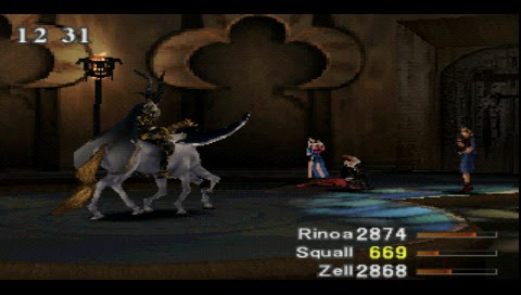Final Fantasy VIII, Odin Fight