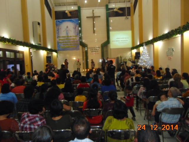 Perayaan Natal GPDI Jemaat Berea Wiradesa Membludak