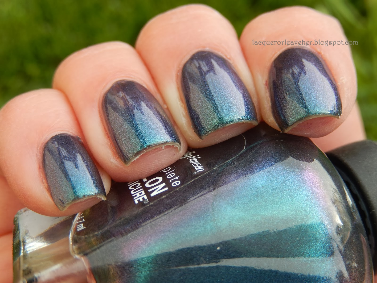 Lacquer or Leave Her!: Monday Blues Polished Pairings: Sally Hansen ...