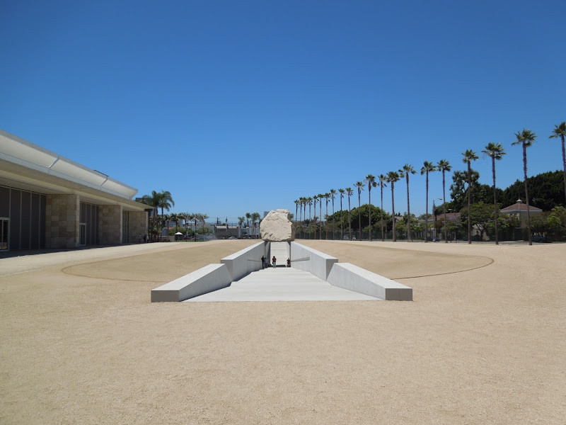 Levitated Mass LACMA