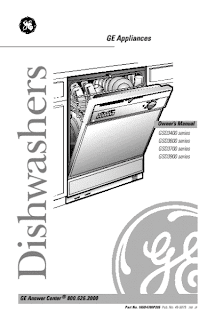 ge quiet power 3 dishwasher manual   Service   Free Service