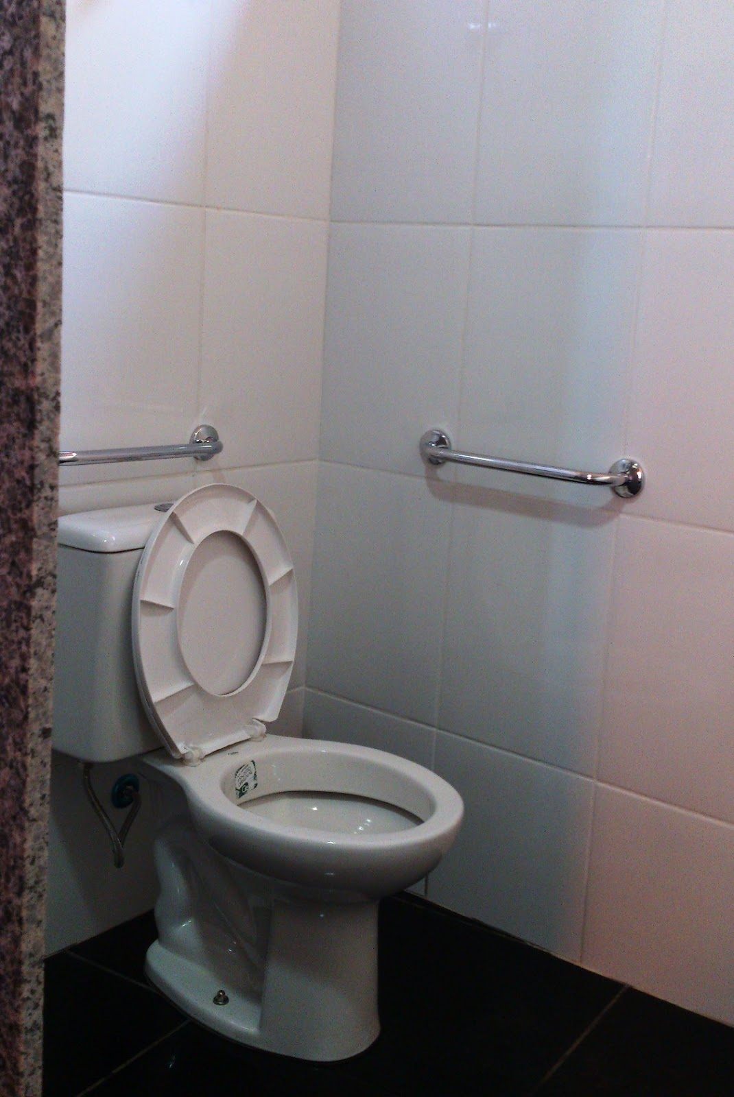 banheiro tem mas falta porta tem banheiro adaptado muito bem #6B5851 1070x1600 Banheiro Cadeirante Porta