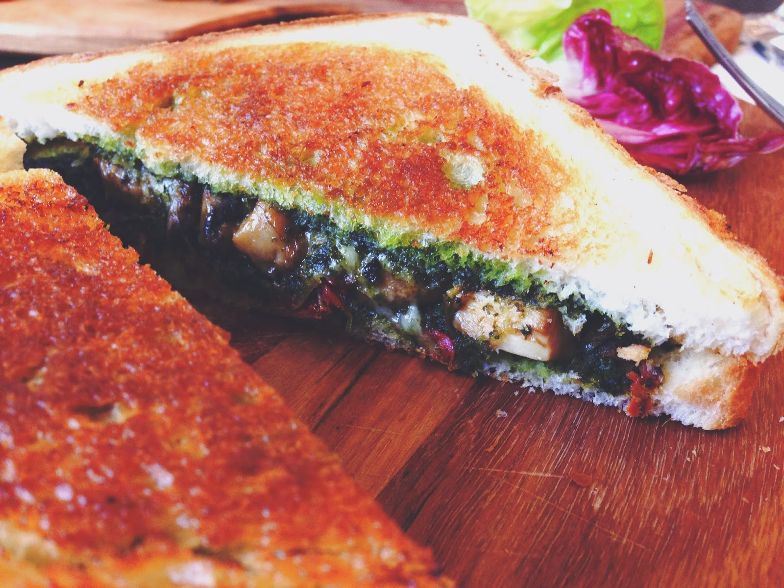 The Lokal Neil Road Singapore Mushroom Parmesan Toastie