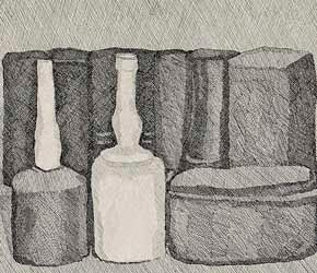 Atelier Malby Giorgio Morandi Kresby A Grafiky