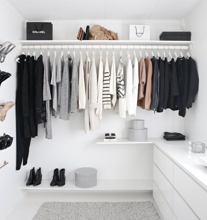 interior 7 ideas for your walk in closet. Black Bedroom Furniture Sets. Home Design Ideas