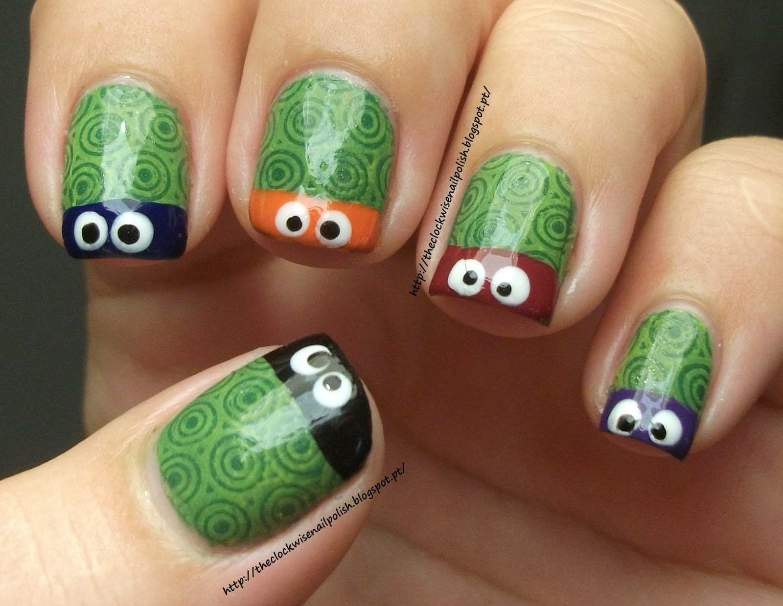 The Clockwise Nail Polish: Day 23: 31 Day Nail Challenge - Inspired ...