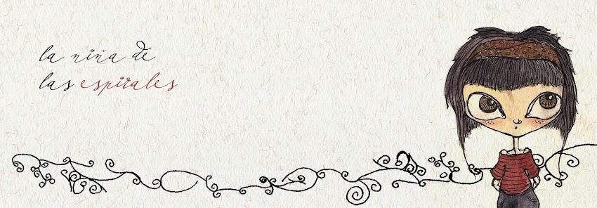 la niña de las espirales