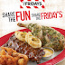 T.G.I. Friday's Shareable Platters
