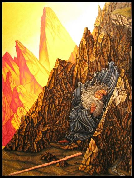 Jack Baumgartner: Moses in the Cleft