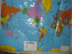 Localiza mapas del mundo, da clic  a la imagen de America del Sur