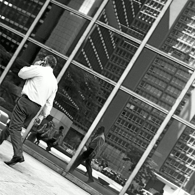 olhar do andarilho urbano