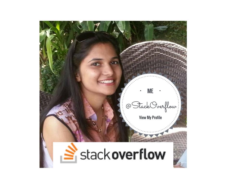 Me @ StackOverflow