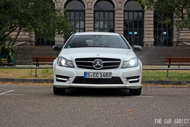 Mercedes-Benz C-Class Sports Coupe 250 Test Drive in Straßbourg
