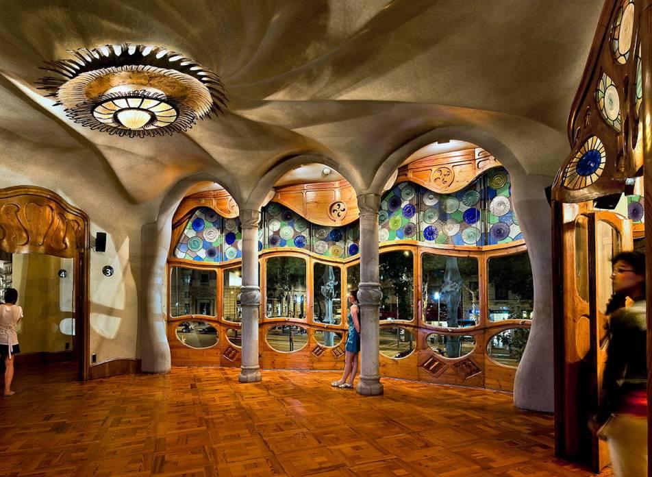Dintorni Barcellona La Casa Batll Antoni Gaudi Barcellona