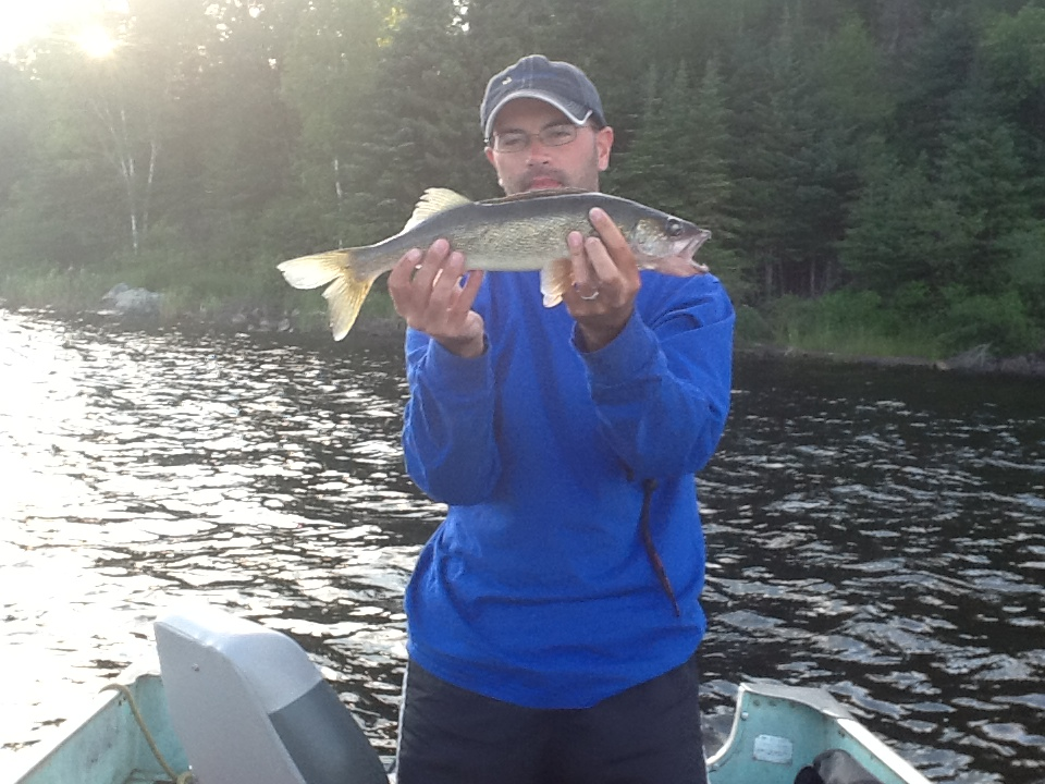 Red lake parker lake late july fishing report eagle for Red lake fishing report