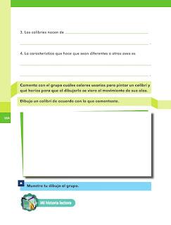 Apoyo Primaria Español 1er grado Bimestre 4 lección 16 Pequeño y asombroso
