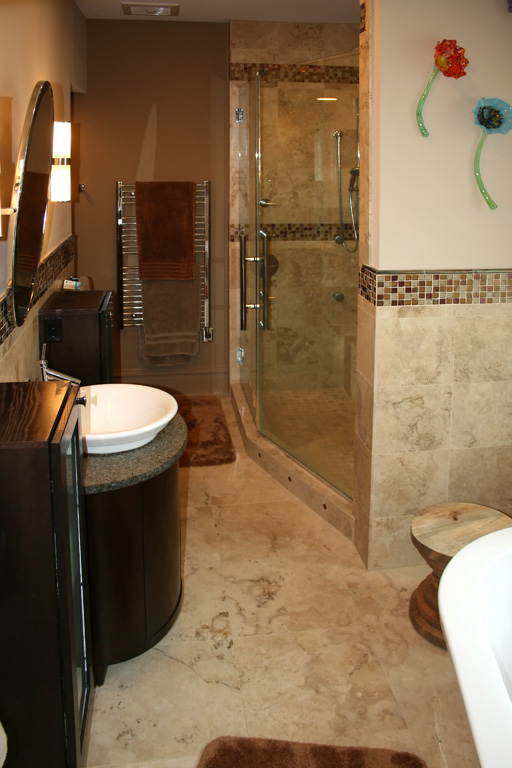Magnificent Bathroom Travertine Tile Shower 512 x 768 · 113 kB · jpeg