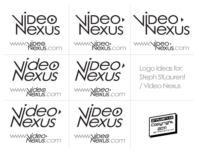 of ideas sent for video nexus based on their old logo name changed