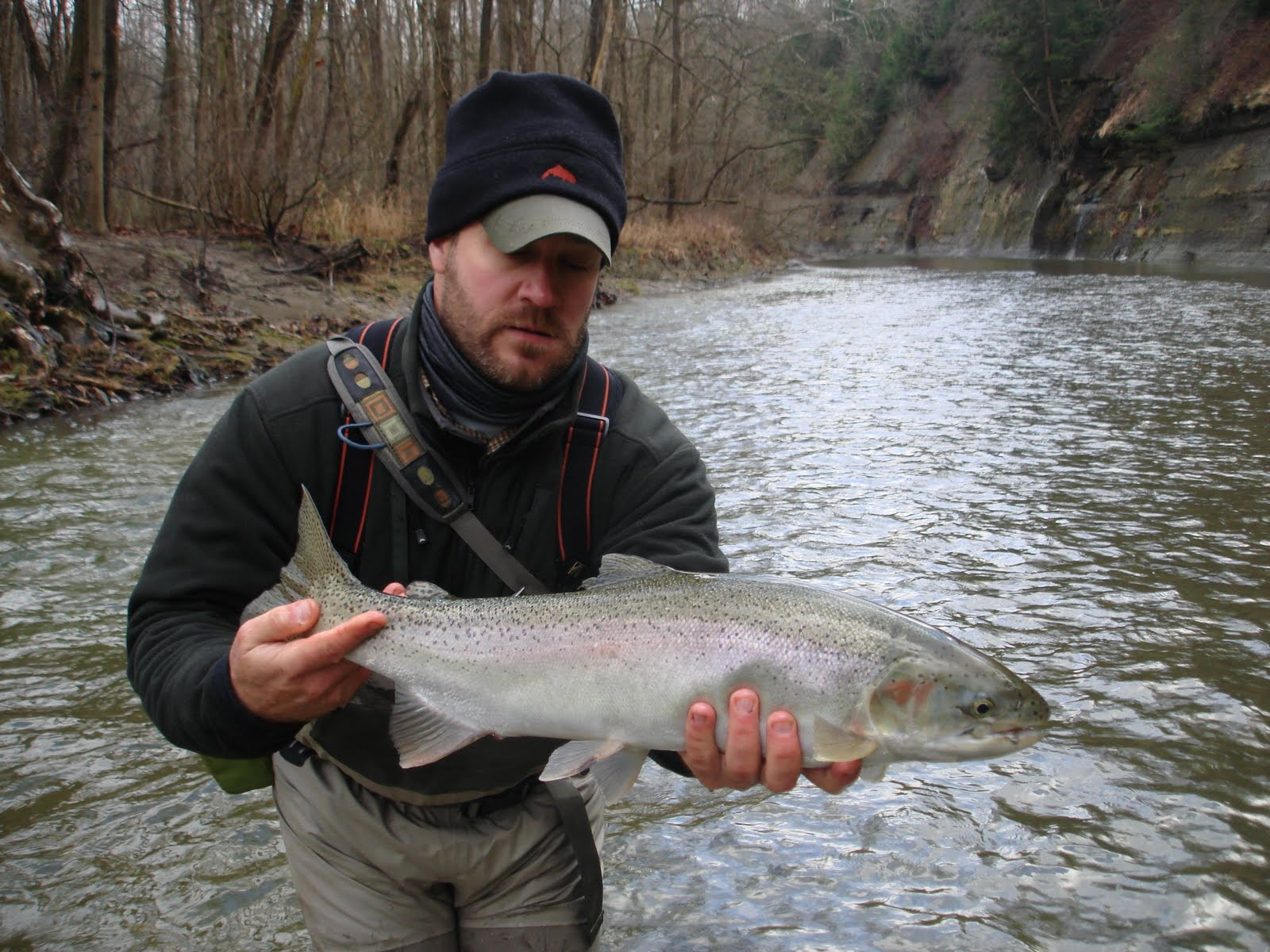 chagrin river outfitters happy holidays fishing report