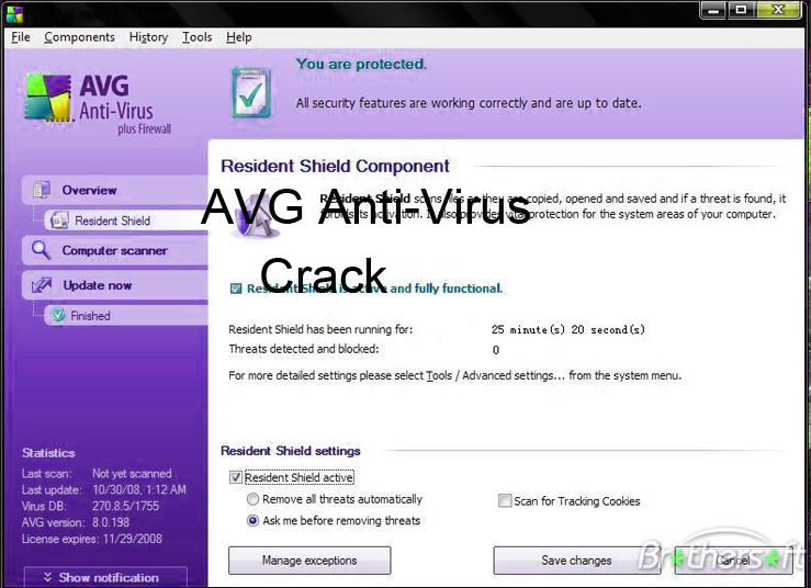 AVG Antivirus 2015 Crack License Key Keygen Portable Download