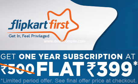 Flipkart First - Premium Flipkart Account Now for only Rs.399