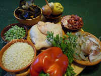 ingredienti della paella valenciana