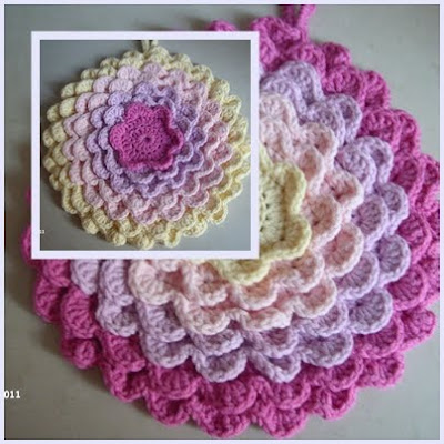 rosenreslis traum geh kelte topflappen crocheted potholders. Black Bedroom Furniture Sets. Home Design Ideas