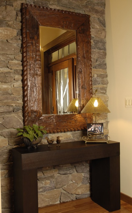 Bricolage e decora o v rias ideias para um hall de - Decoracion rustica barata ...