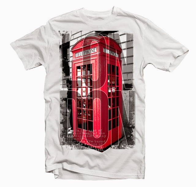 london tshirt desgin