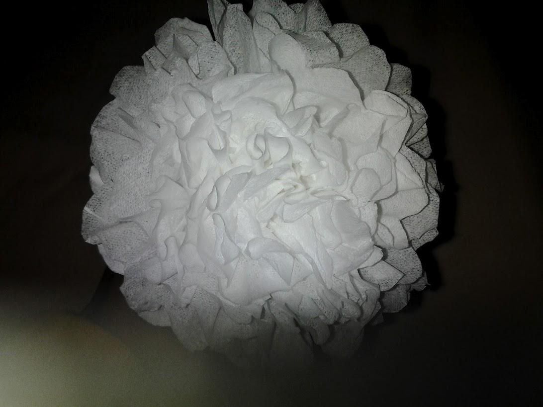 diy bunga tisu dan crepe
