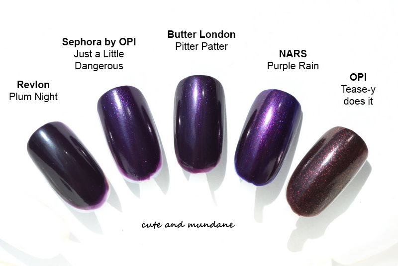 Cute and Mundane: Butter London Pitter Patter nail lacquer review + ...