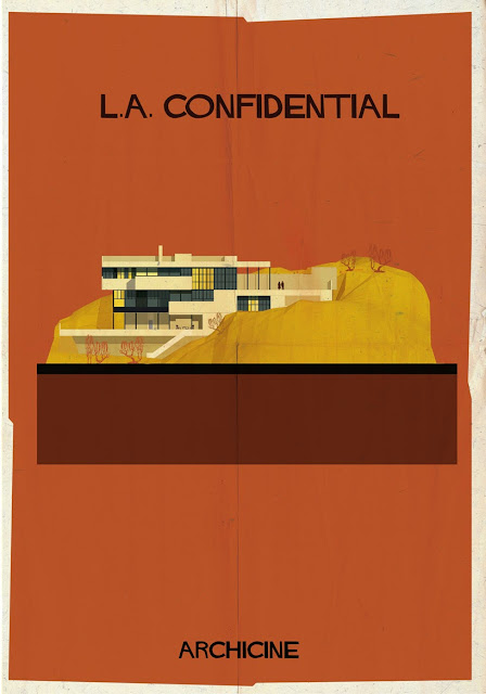 {Art} Architecture in film: Archicine by Frederico Babina | Rue du chat qui peche | L.A. Confidential