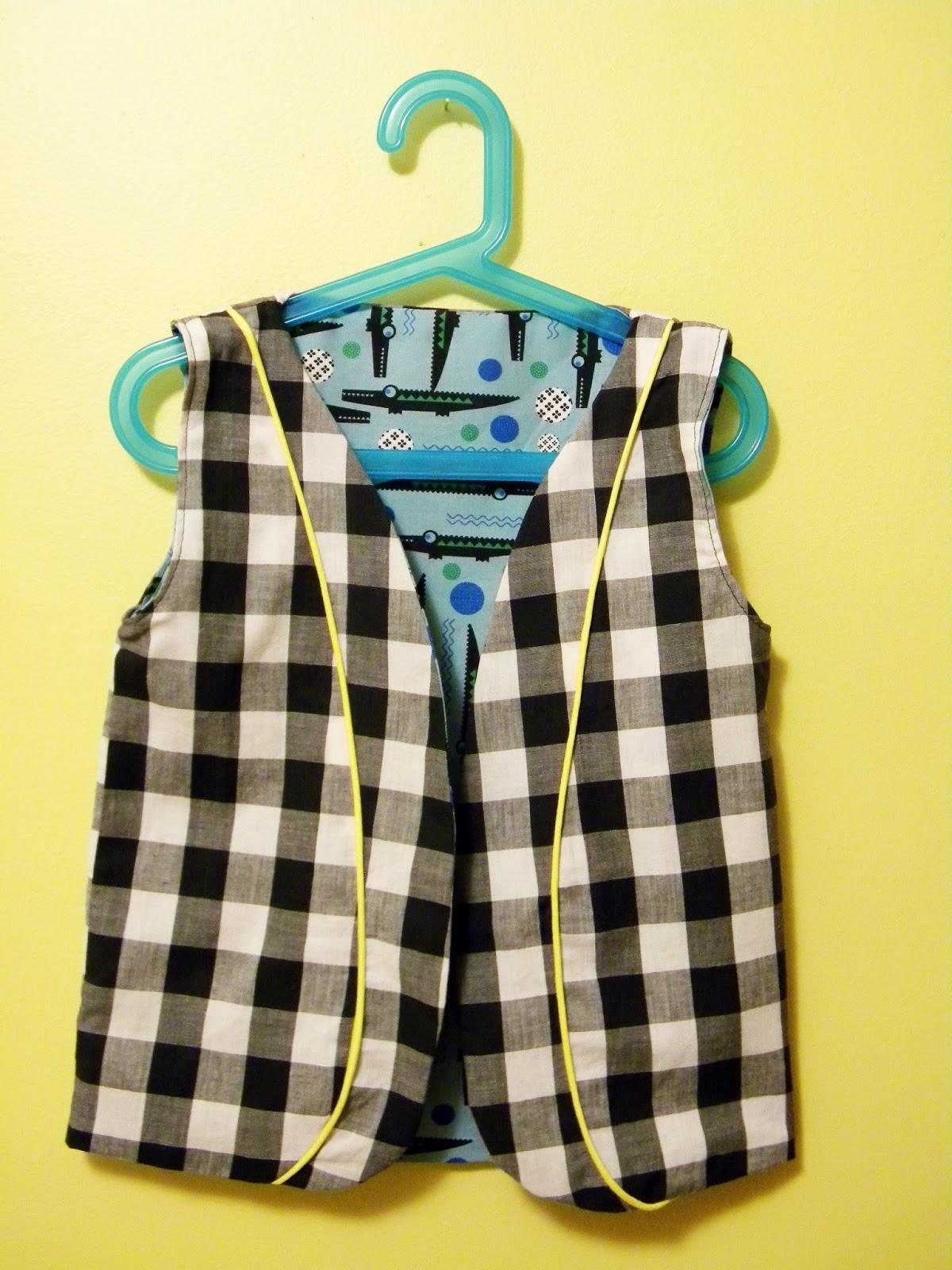 Boys Vest Pattern Custom Design Ideas