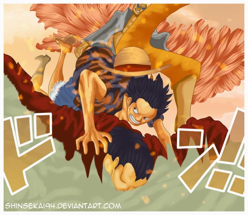 One Piece Chapter 754: Rất vui khi gặp lại cậu 020